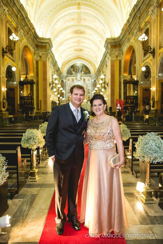 Foto de Patrícia e Carston