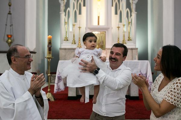 Batizado de Batismo de Sofia!