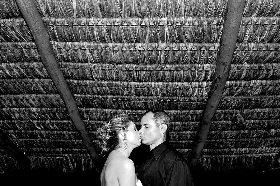 beijo na cabana