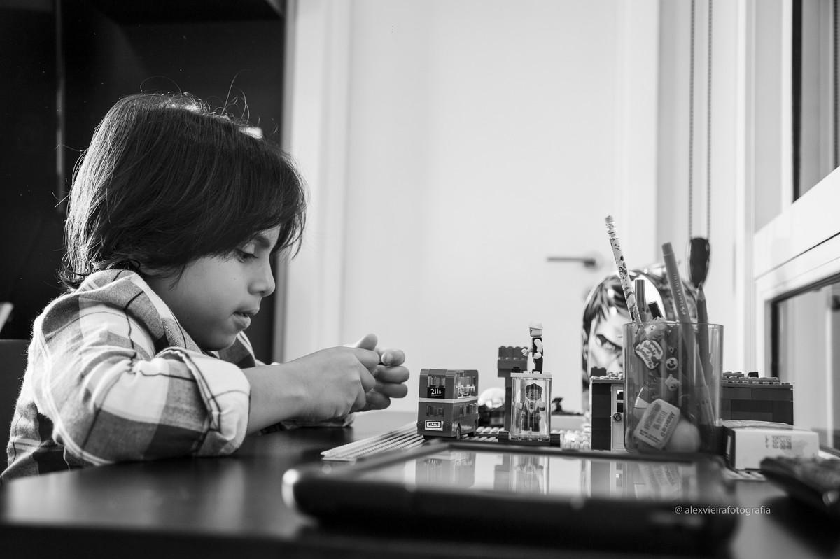 Foto de Ensaio Fotográfico - Alex 7 anos