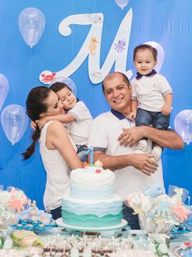 Aniversário de Mateus 1 ano em Ji-Paraná - RO