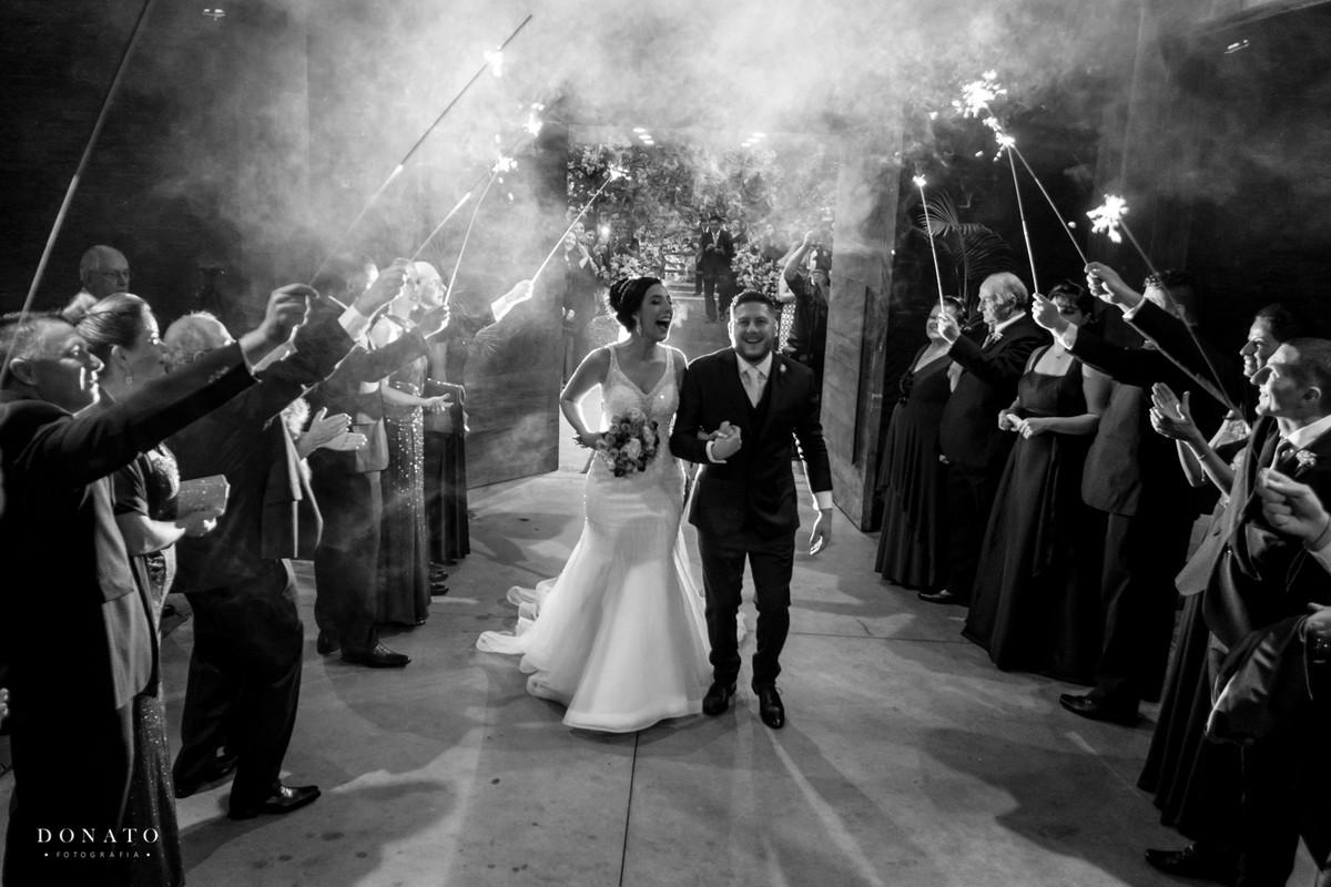 Saídas dos noivos, no sitio São Jorge.