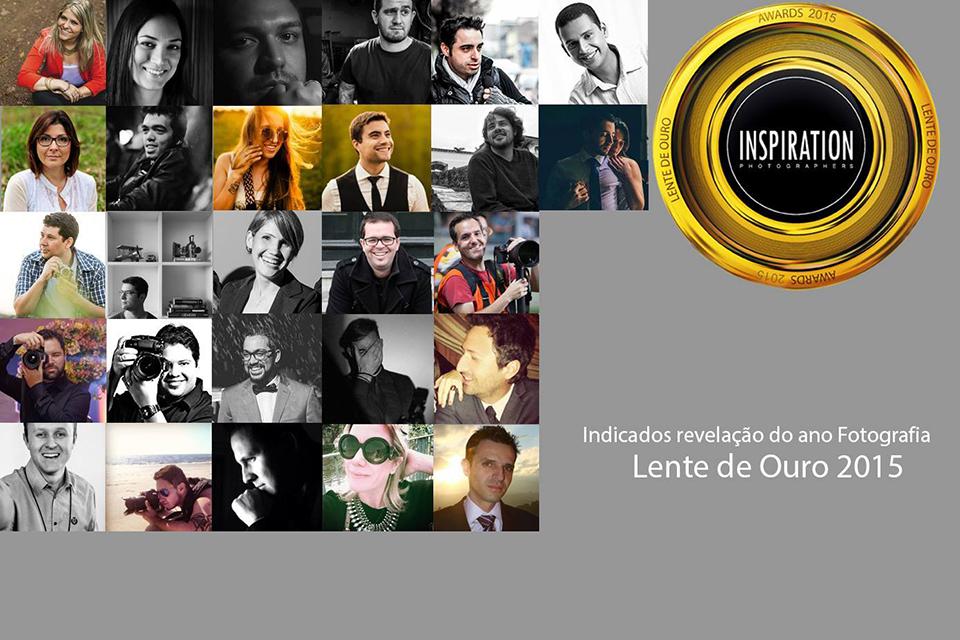 foto de todos indicados ao premio revelacao de 2015 pelo premio lente de ouro