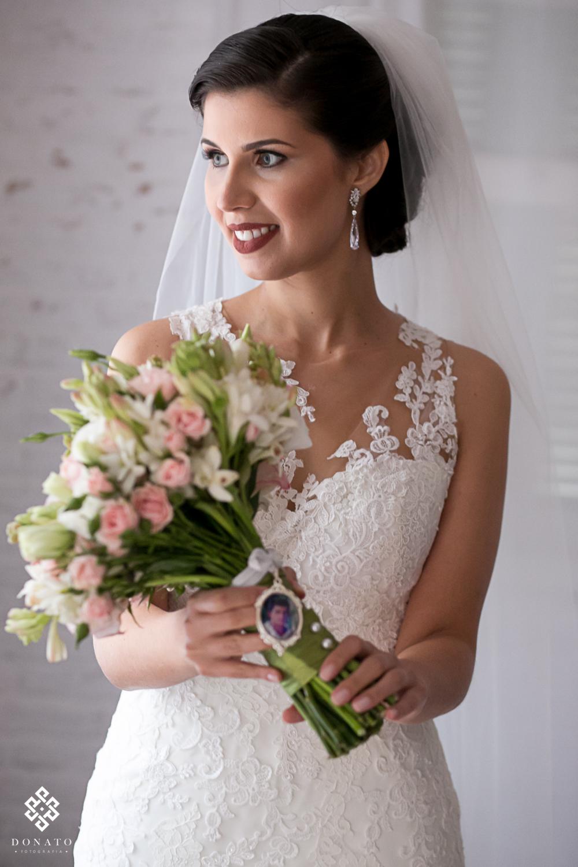 Retrato da noiva, toda linda antes do casamento na fazenda 7 lagoas.