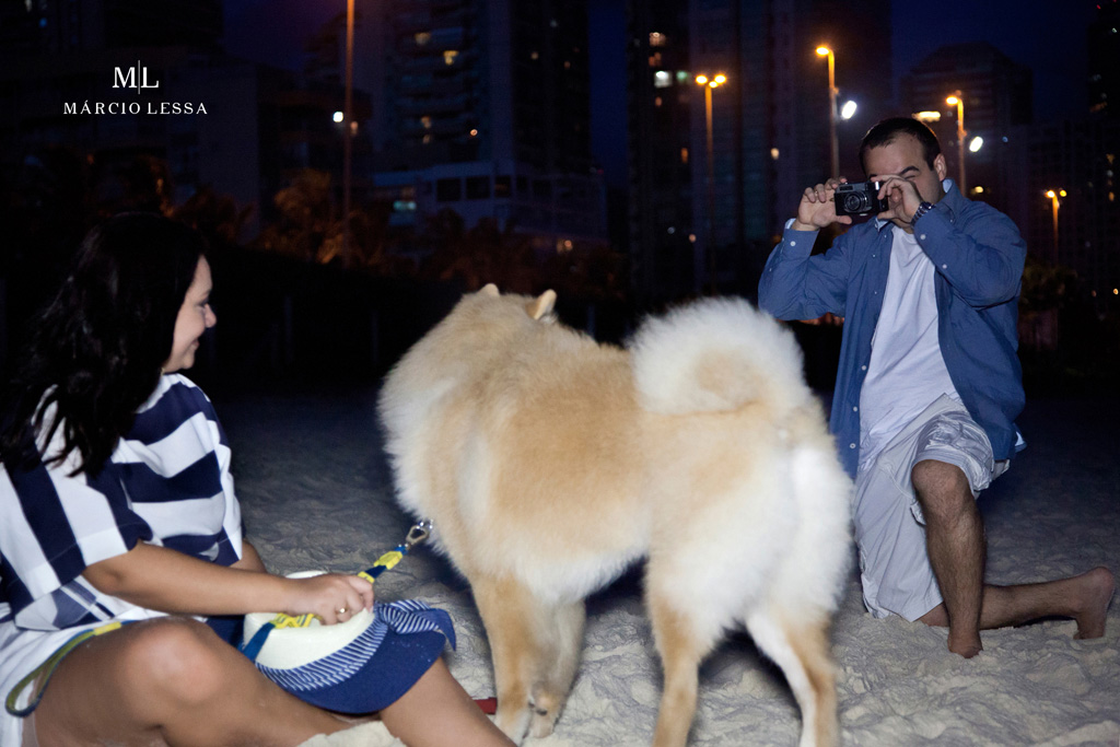 Pre-Wedding na Praia da Barra da Tijuca, Rio de Janeiro, RJ, por Márcio Lessa | Fotografia