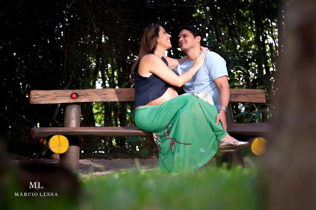 Ah, o amor no Ensaio de Gestante por Márcio Lessa | Fotografia