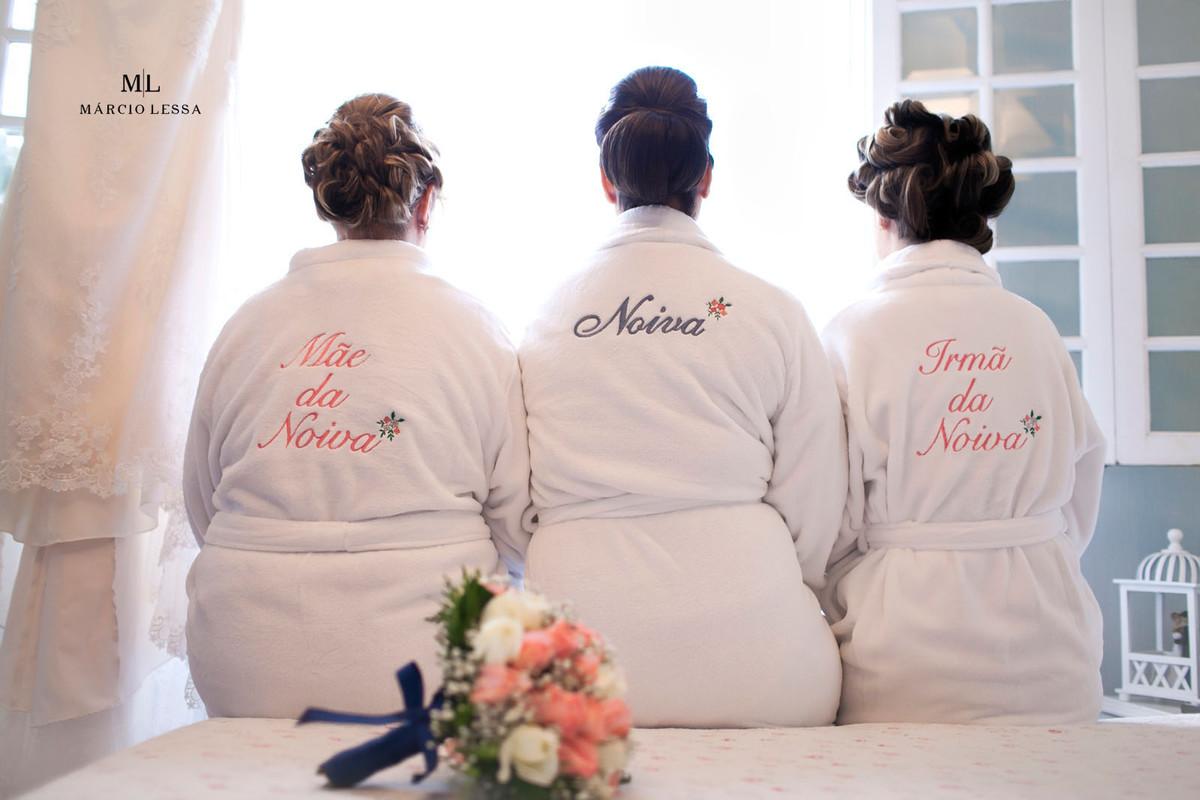 hobbies personalizados da noiva, mãe da noiva e irmã da noiva