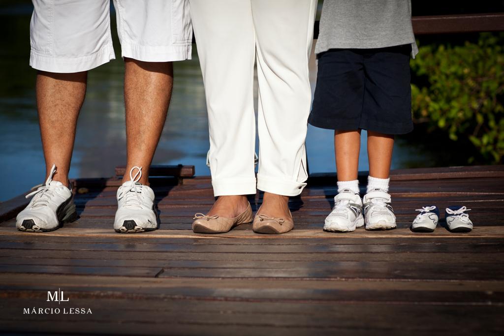 Ensaio de Gestante e Família por Márcio Lessa | Fotografia