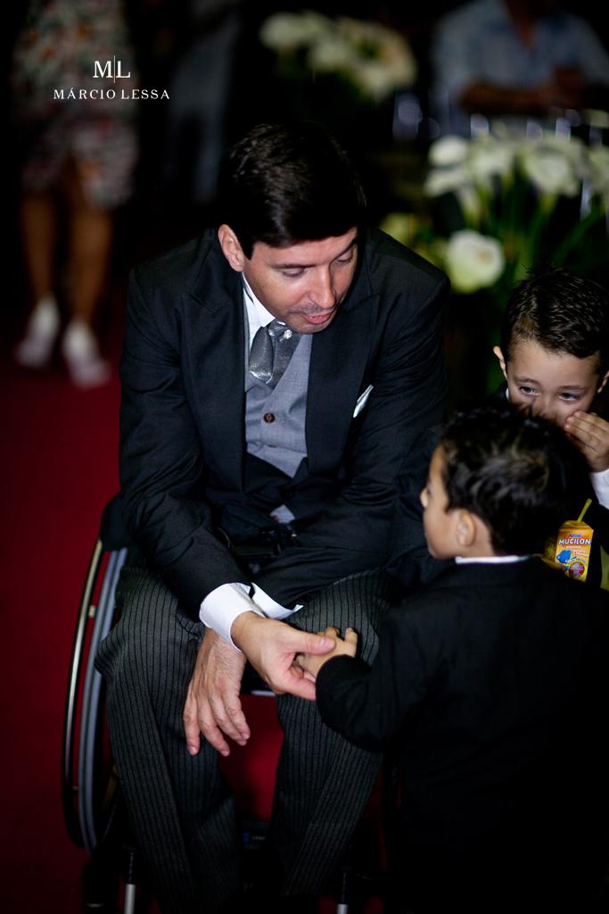 O noivo paralímpico | Casamento na Lofty Kingdom Eventos, Rio de Janeiro, RJ, por Márcio Lessa | Fotografia