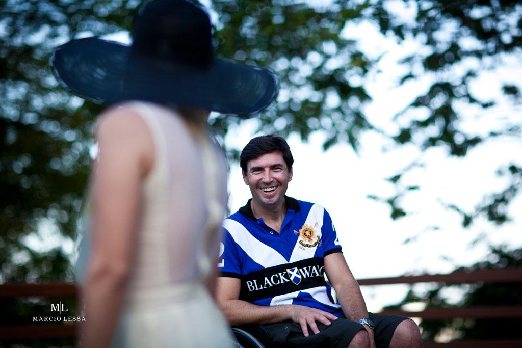 Sim, ela me completa! Pre-Wedding no Parque Penhasco Dois Irmãos, Leblon, Rio de Janeiro, RJ, por Márcio Lessa | Fotografia
