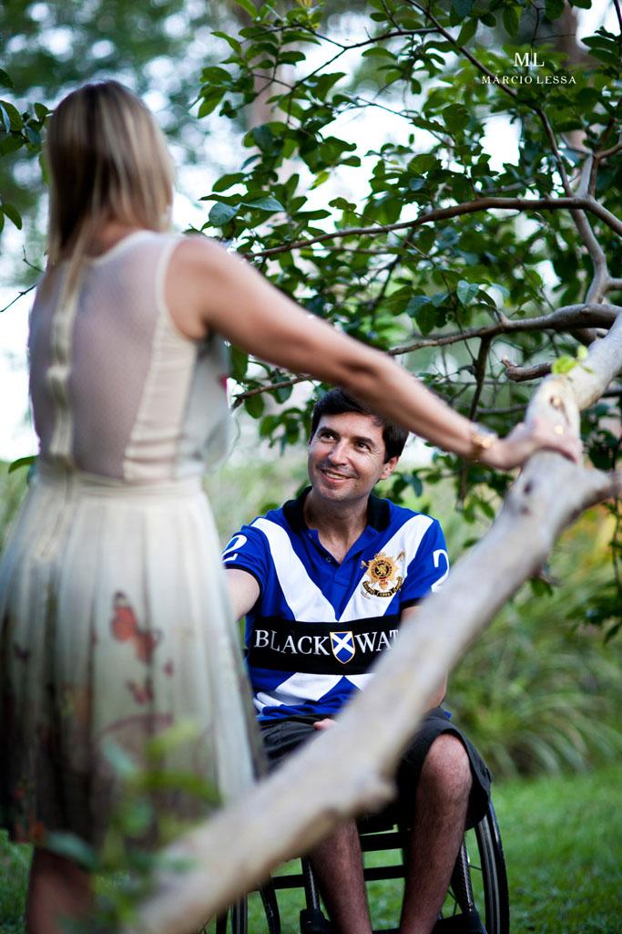 Amor e natureza | Pre-Wedding no Parque Penhasco Dois Irmãos, Leblon, Rio de Janeiro, RJ, por Márcio Lessa | Fotografia