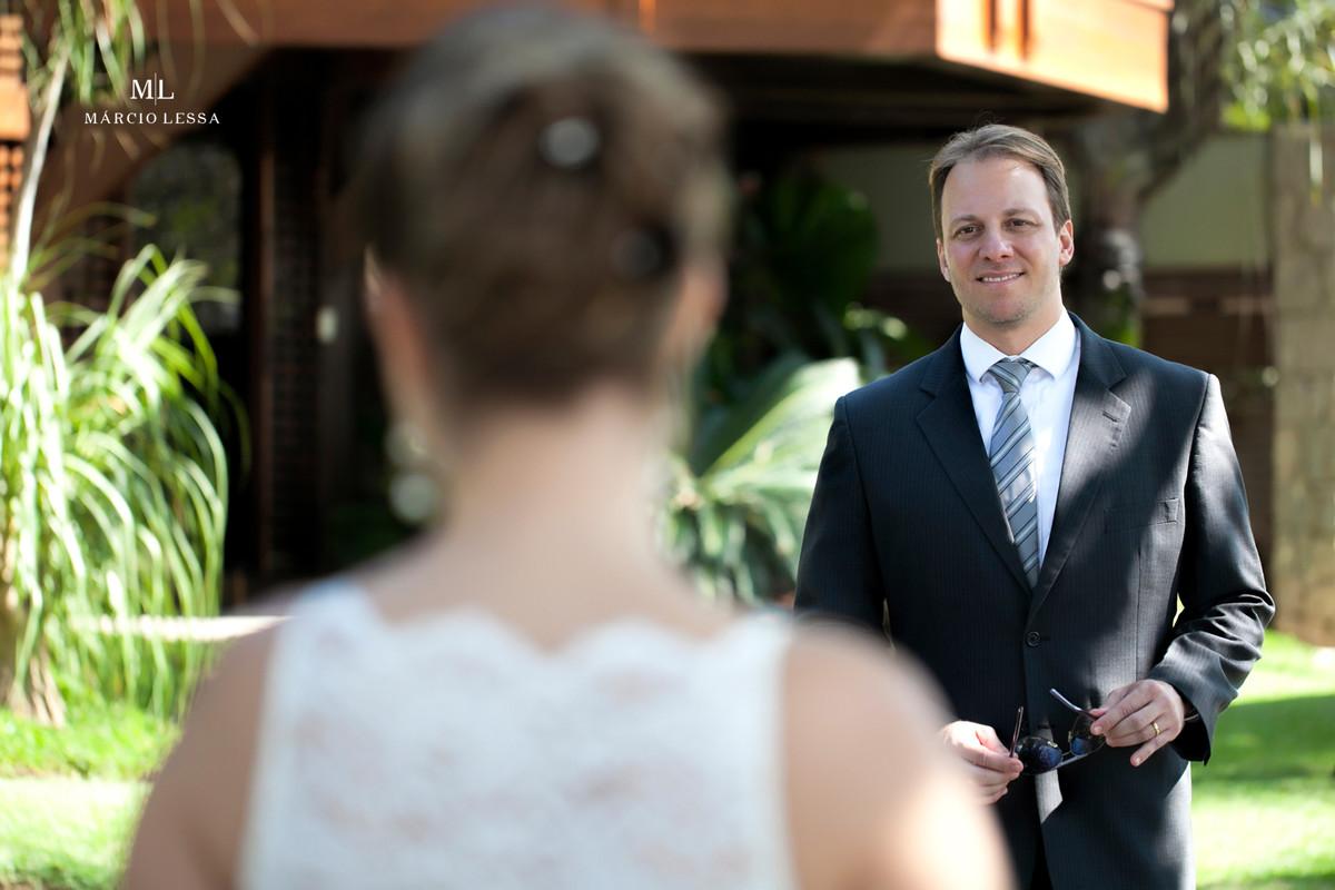 Olhar que fala mais que palavras | Casamento Civil no Shopping Downtown na Barra da Tijuca RJ