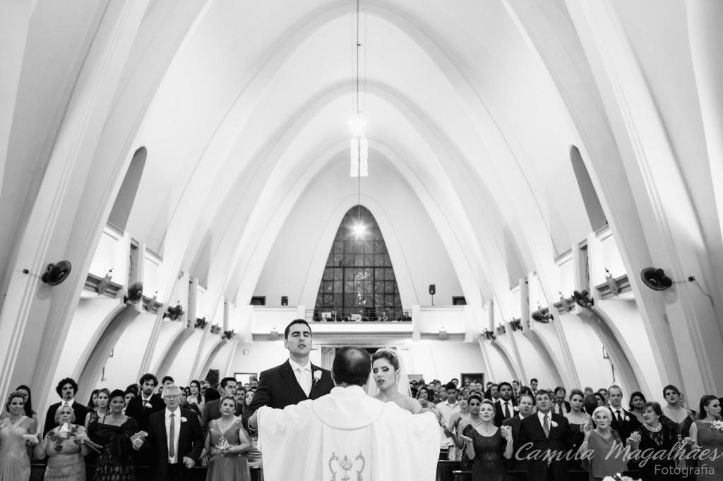 Igreja Santa Clara da Piedade casamento Camila Magalhães