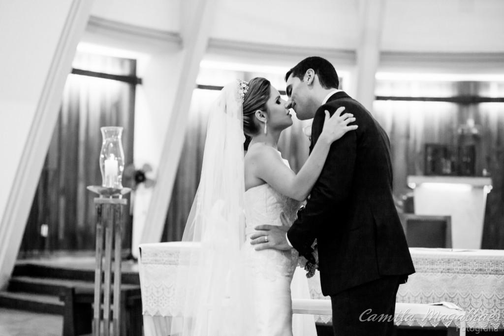 beijo final amor e casamento fotografia