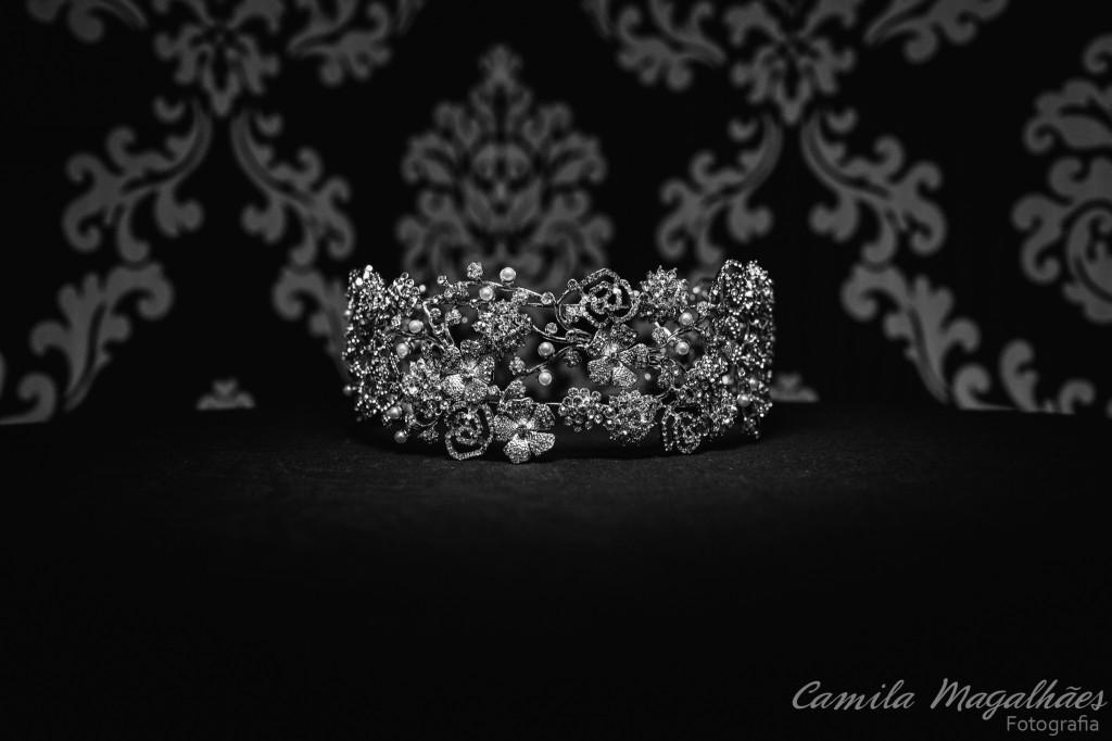 tiara clássica para noivas