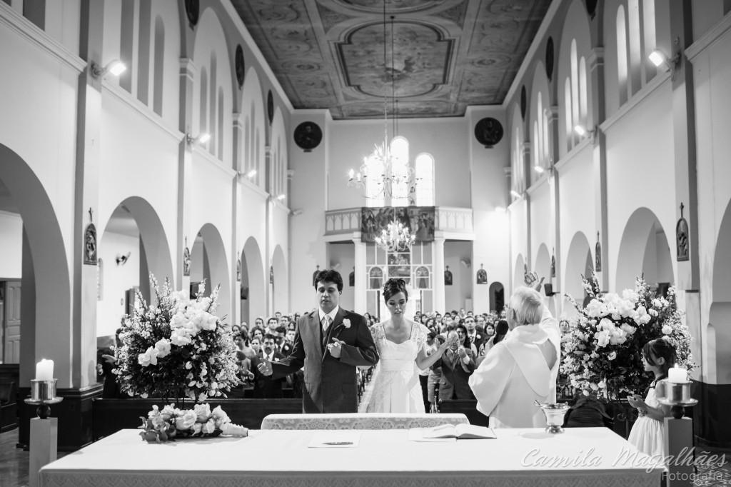 momento de oração fotografia casamento