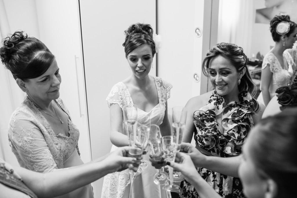 brinde making of noiva  casamento