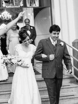 Casamentos de Eliziane e Carlos em Igreja São José - BH