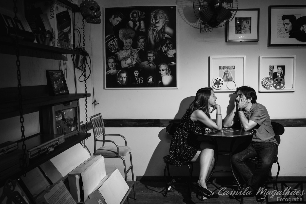 Foto de Melina e Marcelo