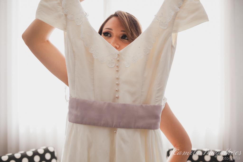 vestido pó de arroz camila magalhaes fotografia casamento