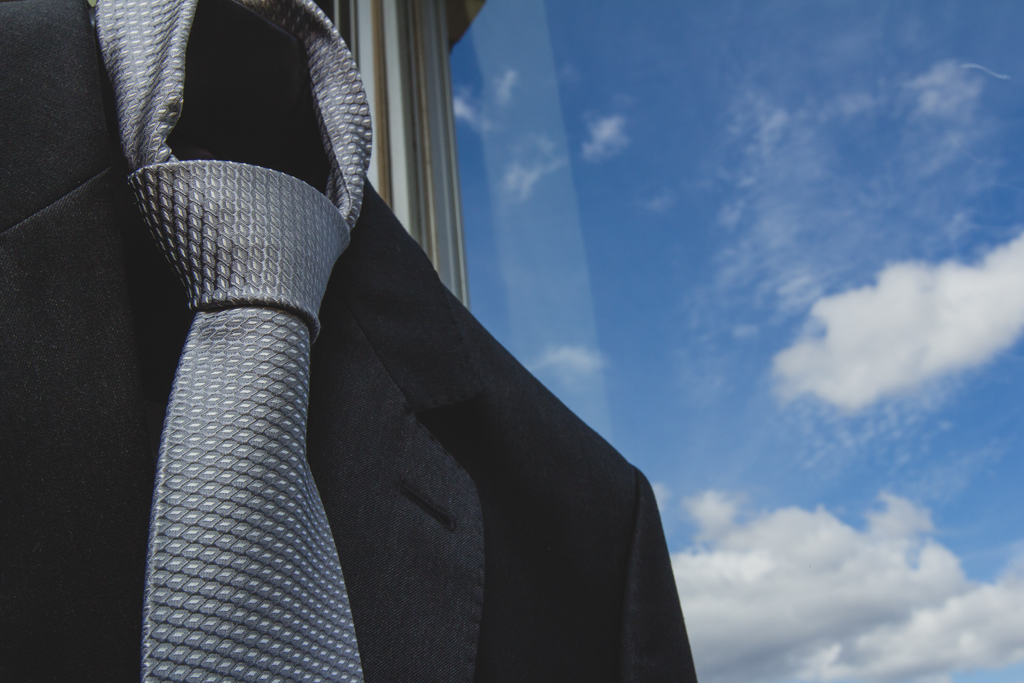 making of noivo gravata