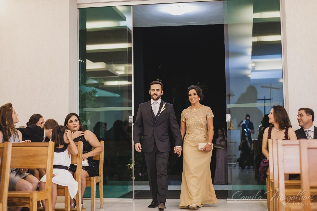 Entrada do noivo casamento em BH