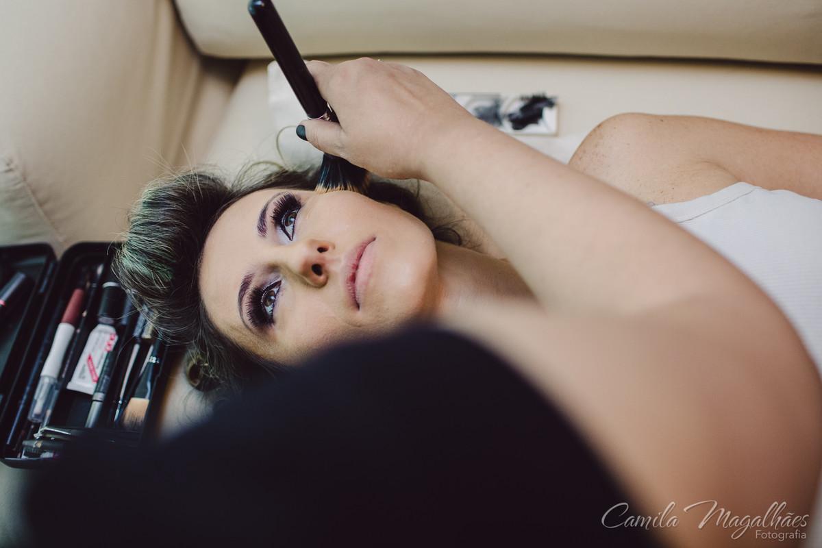 maquiagem de casamento Cassia Marques