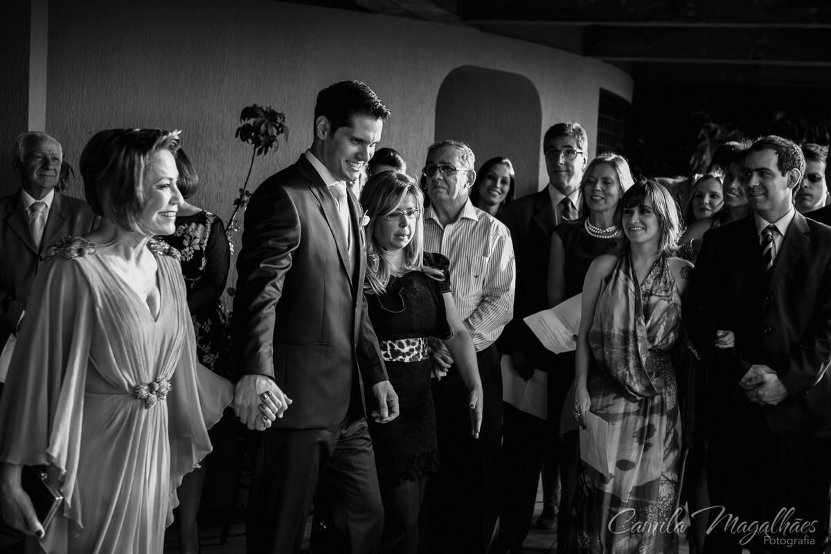 entrada do noivo casamento diurno