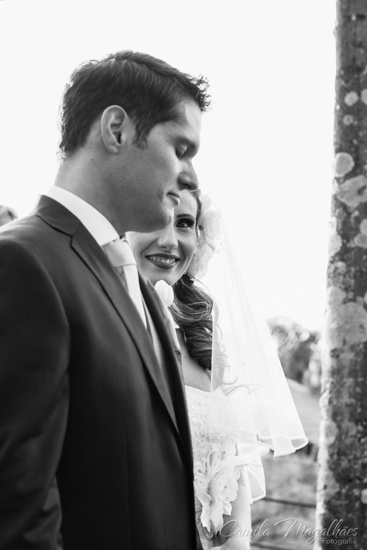 fotografia emocionante de casamento