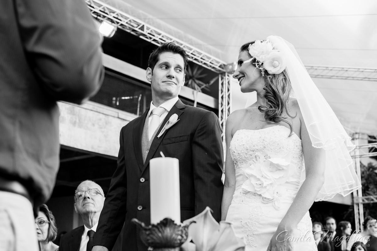 casamento com muito sentimento