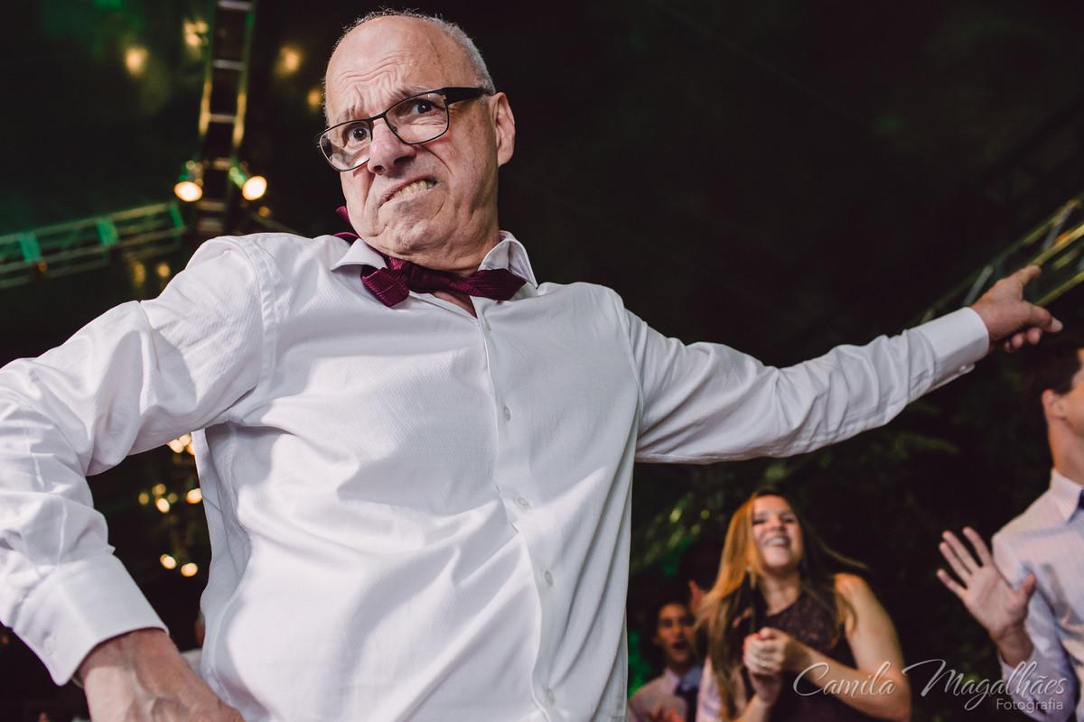 pai cai na dança