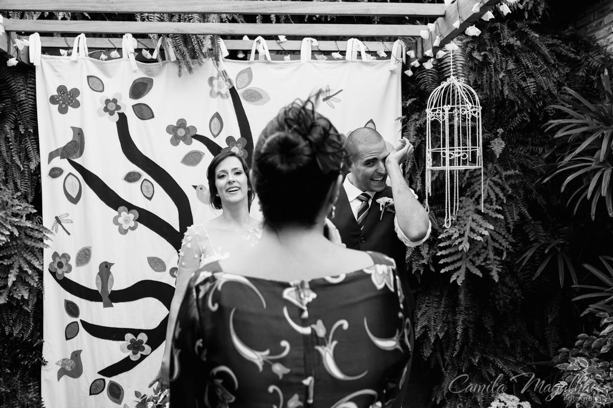 emoção no casamento