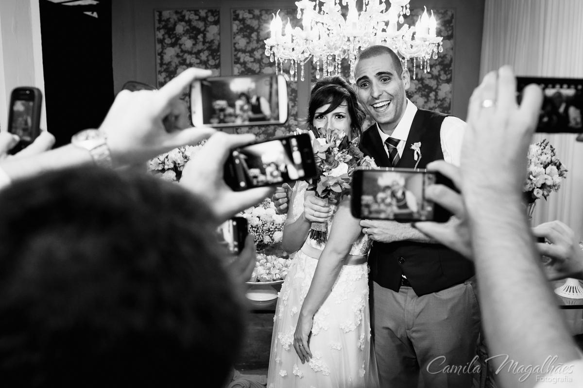 celulares no casamento