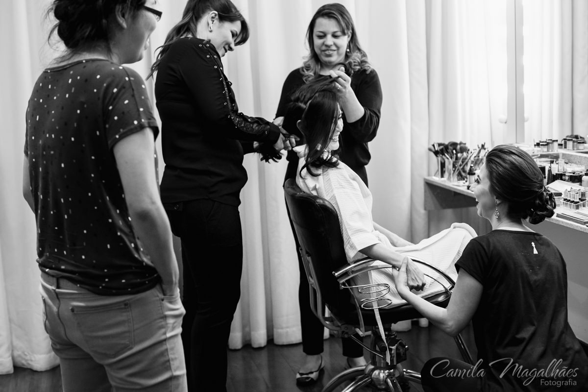 Making of Noiva Fernanda Beloni