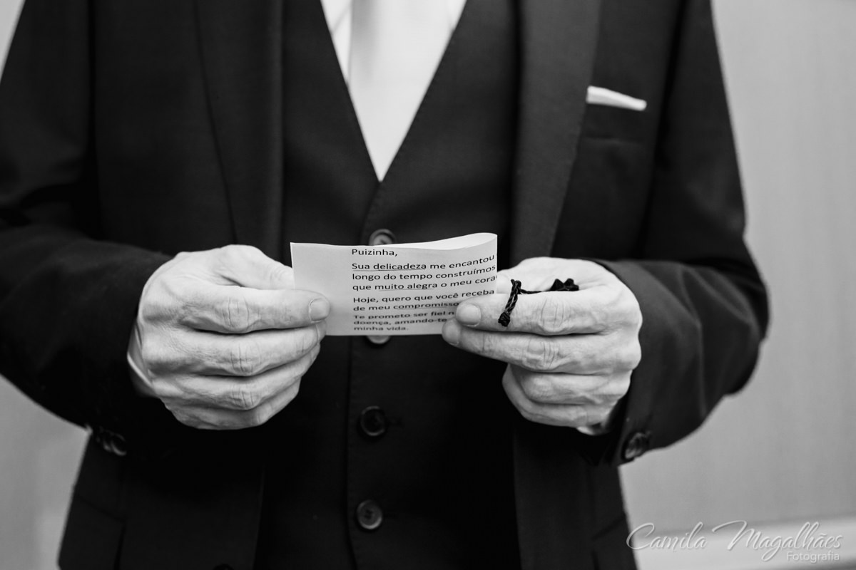 votos do noivo