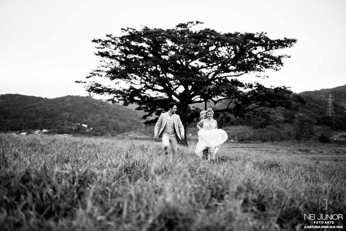 Foto de Trash the  dress Marcio e Letícia
