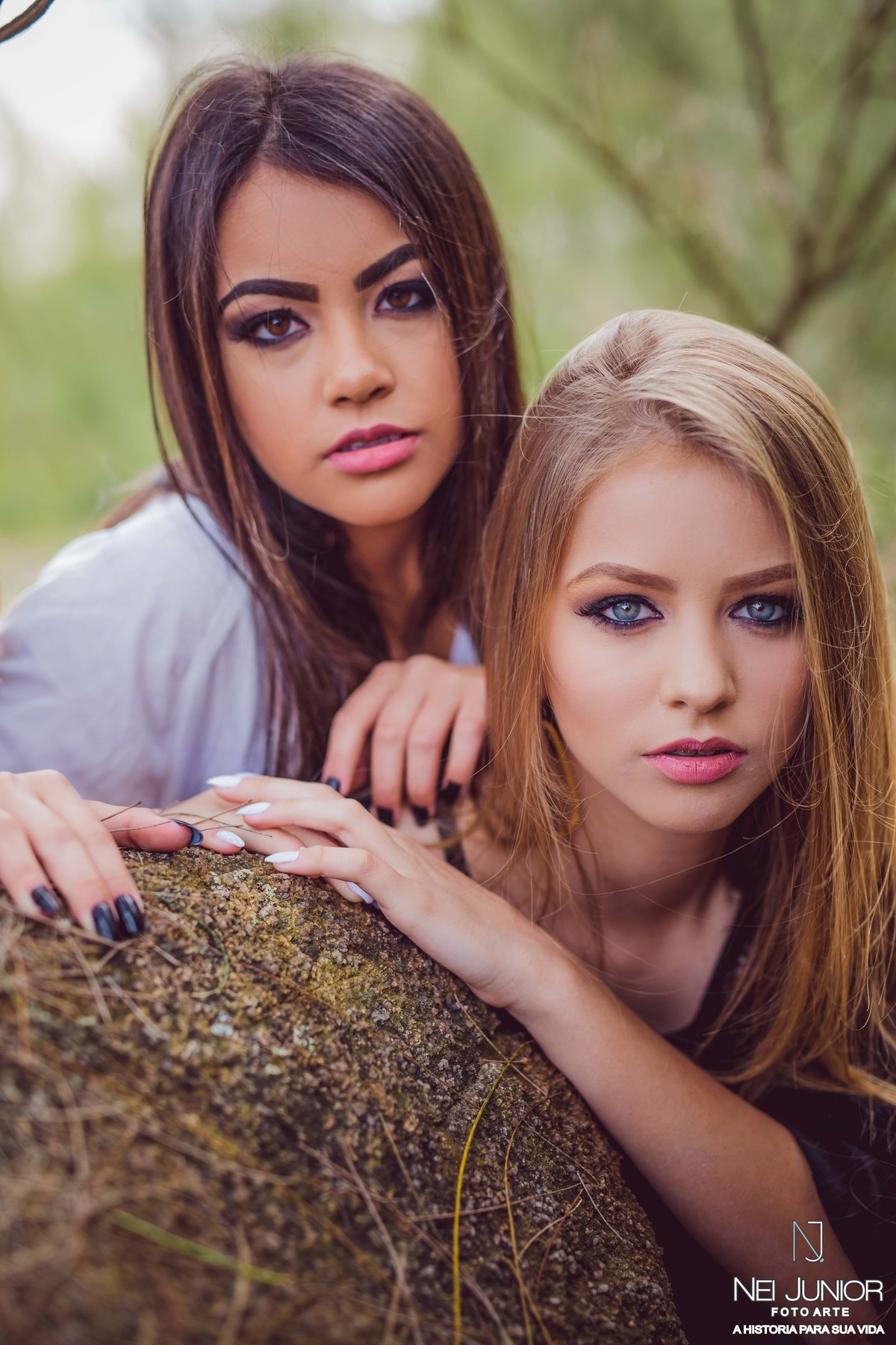 Foto de Sessão entre amigas  Amanda e Isadora