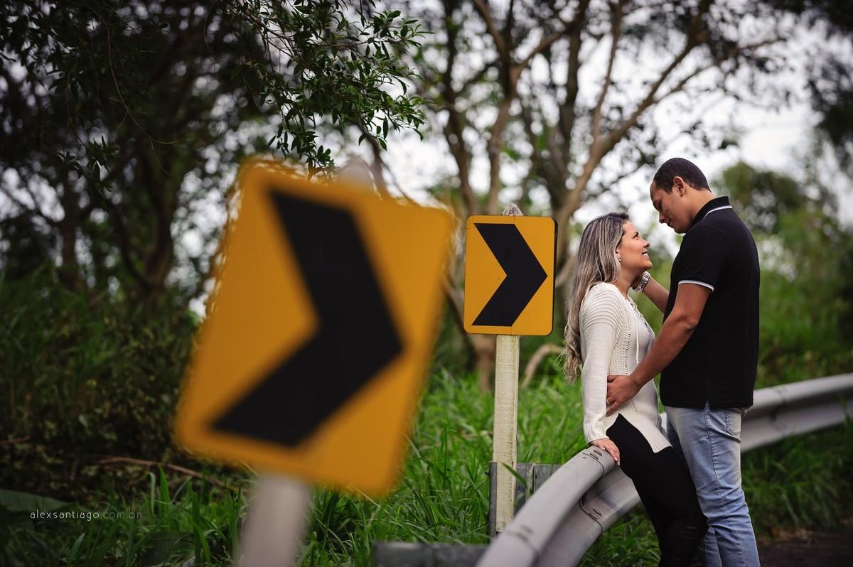 ensaio asamento estrada, ensaio casamento carro
