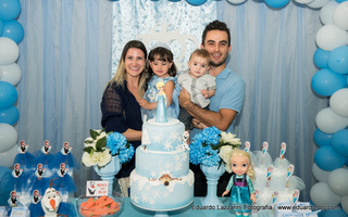 Aniversários de Isabella 3 anos