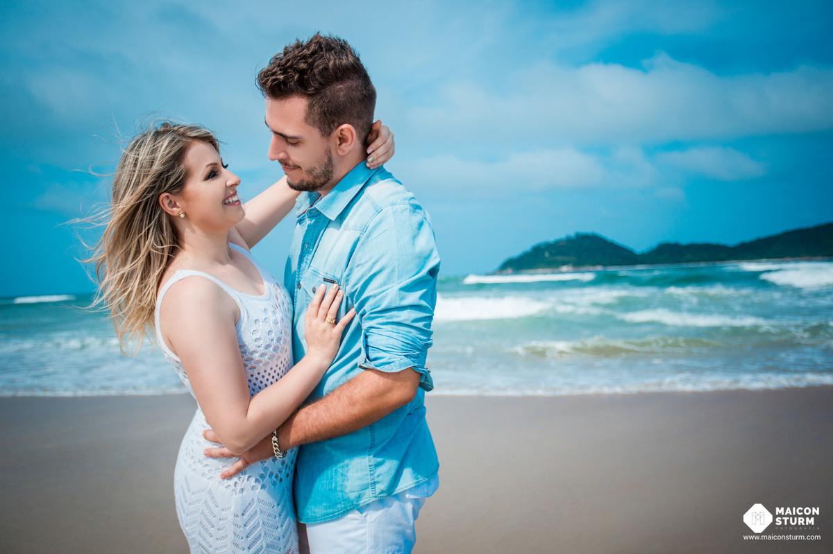 Foto de Fernanda e Rafael