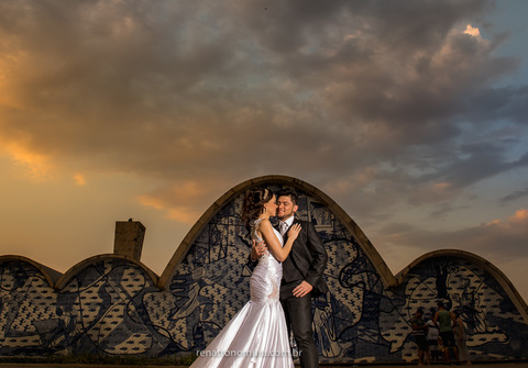 Ensaio de noivos de Taylane e Marcos