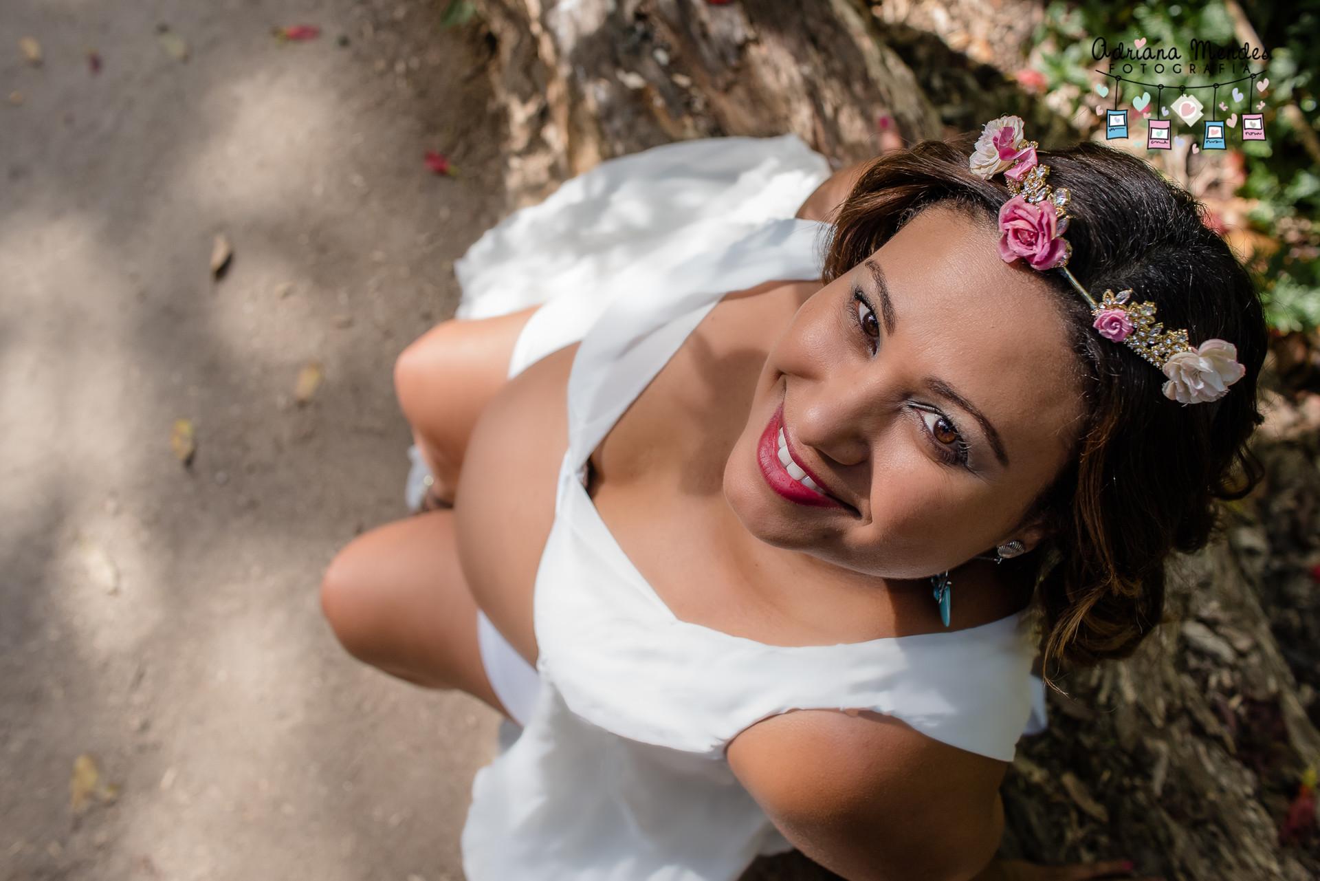 Imagem capa - Ensaio Gestante - Herika 7 meses por Adriana Mendes Fotografia