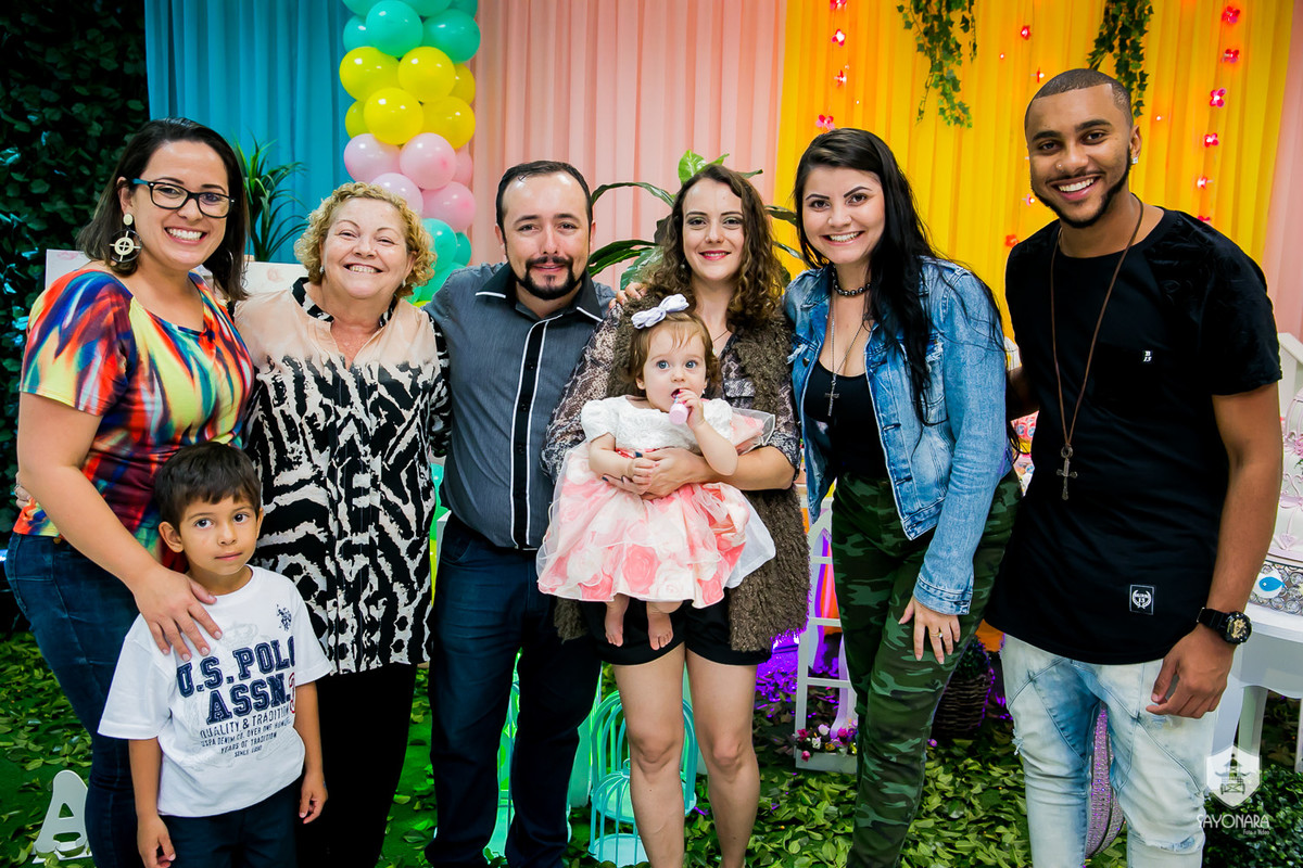 Foto de Alice dos Santos | 1º Aninho