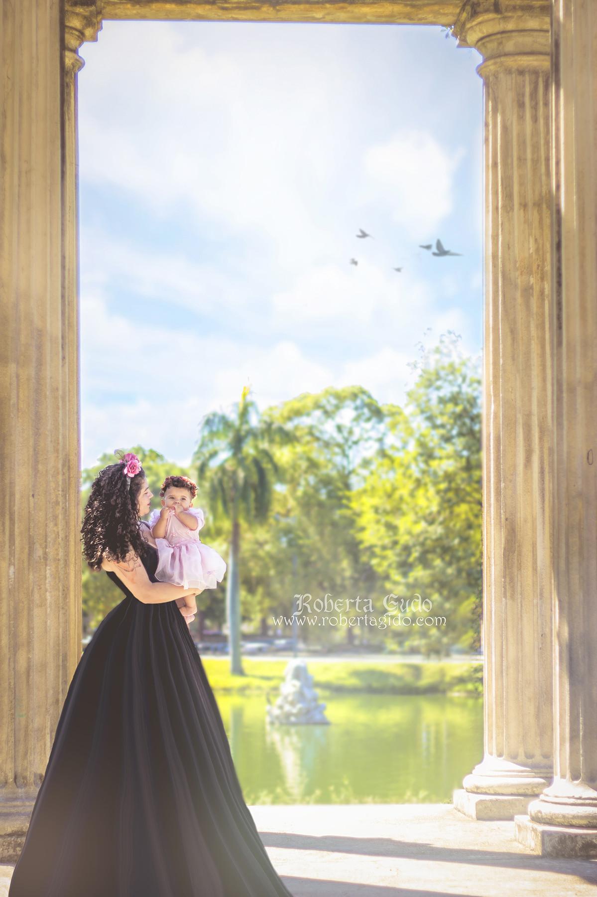 ensaio fotográfico fadas mãe e filha