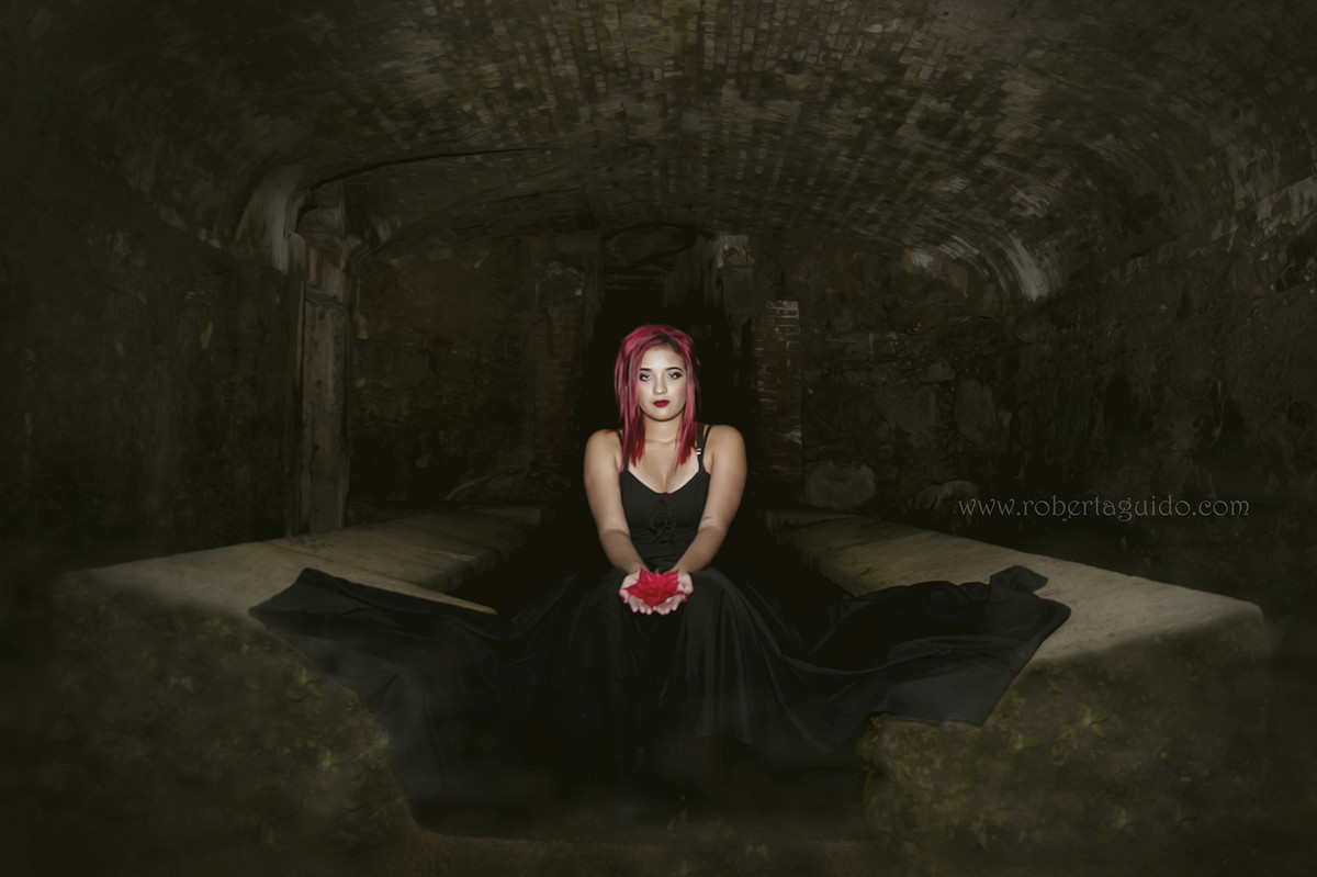 ensaio fotográfico gótico