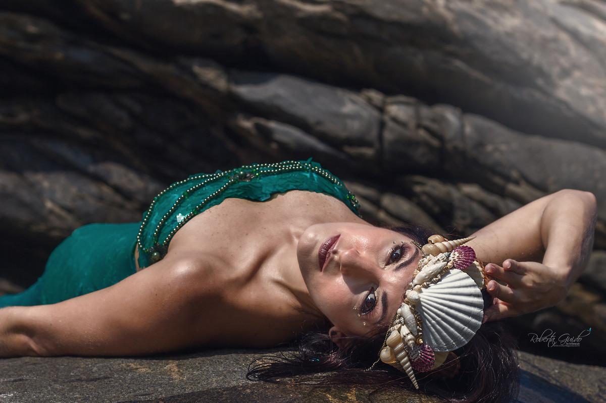 Photoshoot mermaid