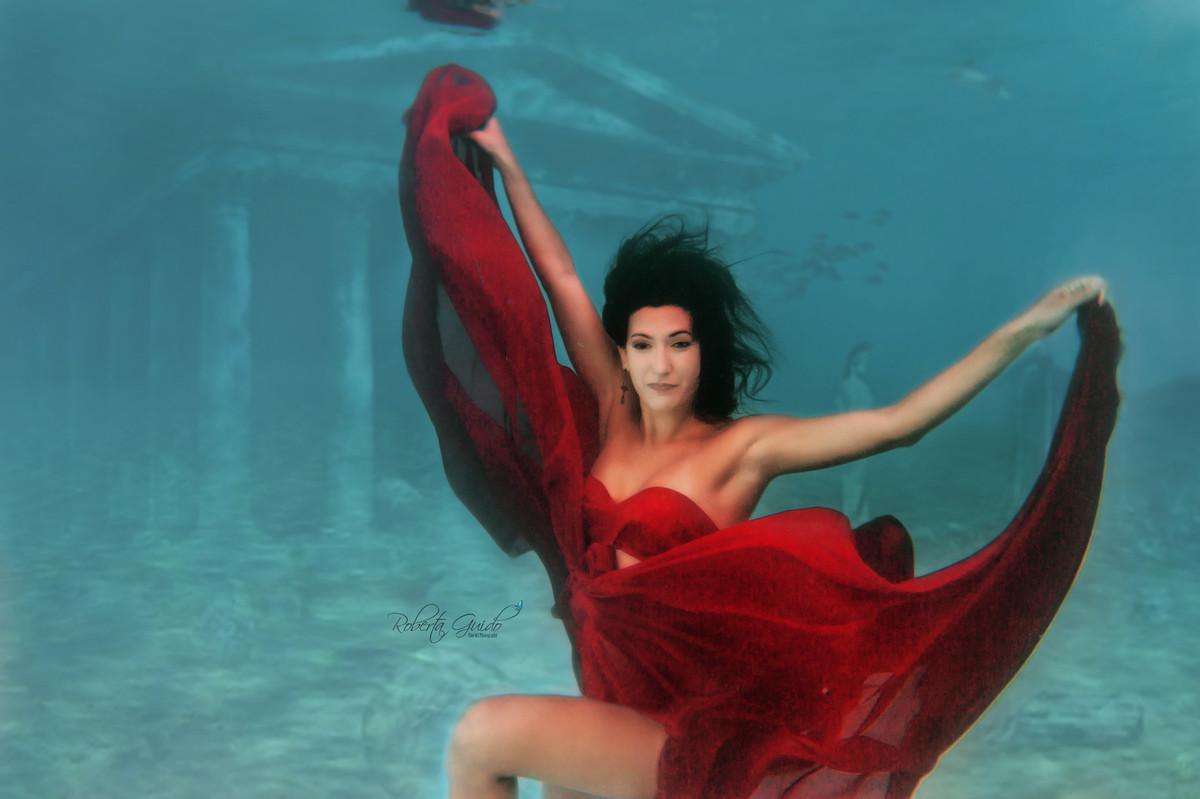 Ensaio fotográfico embaixo d'agua Rio de Janeiro