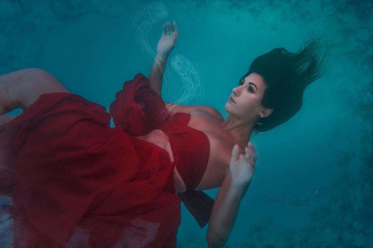 Ensaio fotográfico subaquático Rio de Janeiro
