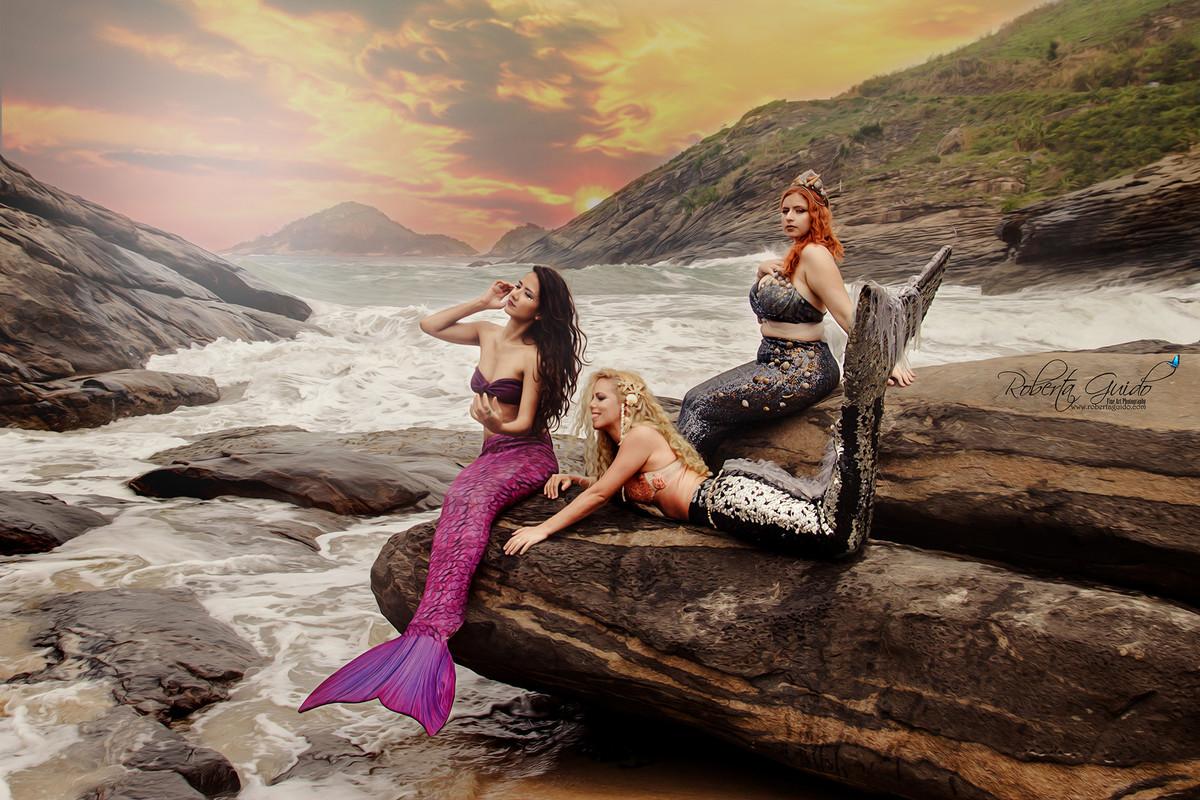 meninas sereias