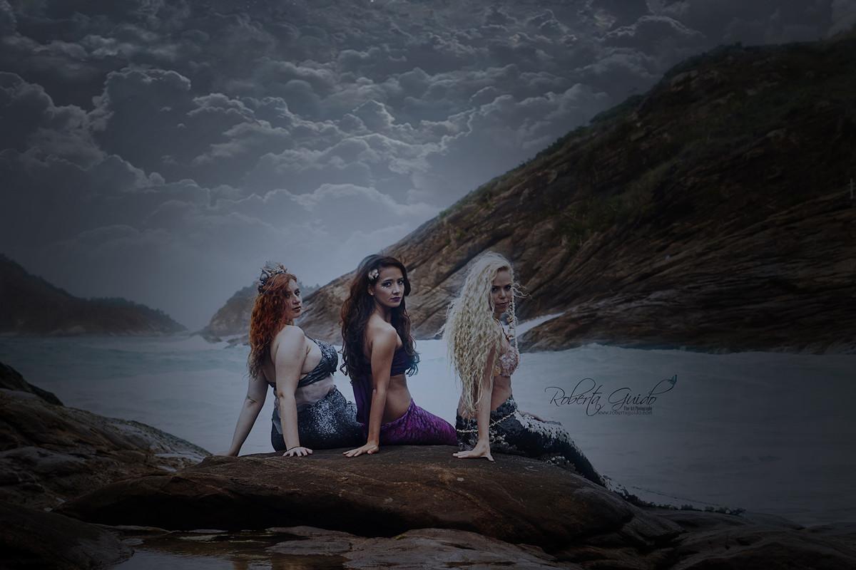 ensaio fotografico de sereias no rio de janeiro